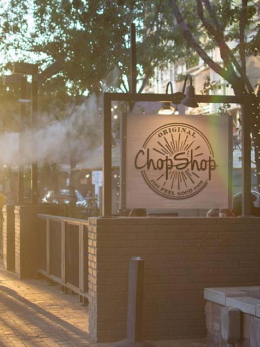 orginial chop shop custom sign