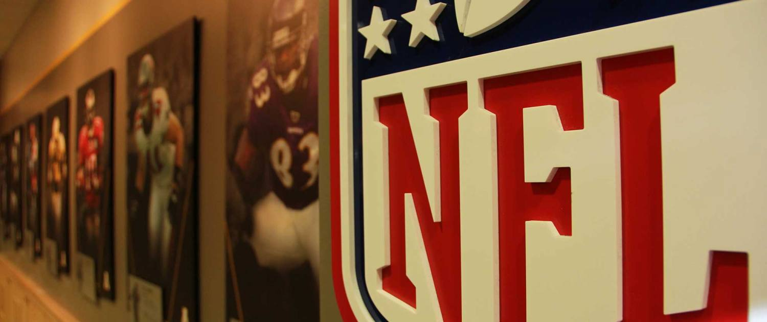 interior sign for nfl