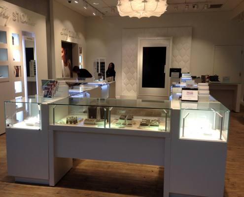 interior signage at reeds jewelers